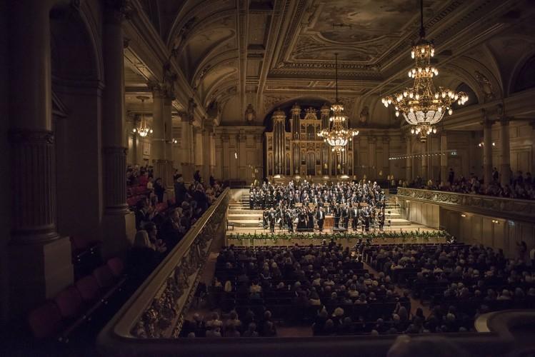 Fotos vom Osterkonzert 2016: Matthäus-Passion in der Tonhalle