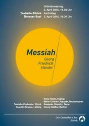 Messiah, Konzert Ostern 2015