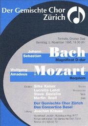 Konzert vom 2.11.1996