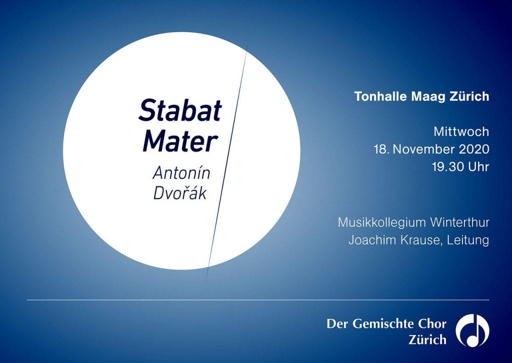 Konzert Stabat Mater, Antonin Dvorak